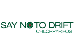 Chlorpyrifos: say no to drift
